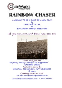 Recruitment leaflet Rainbow Chaser